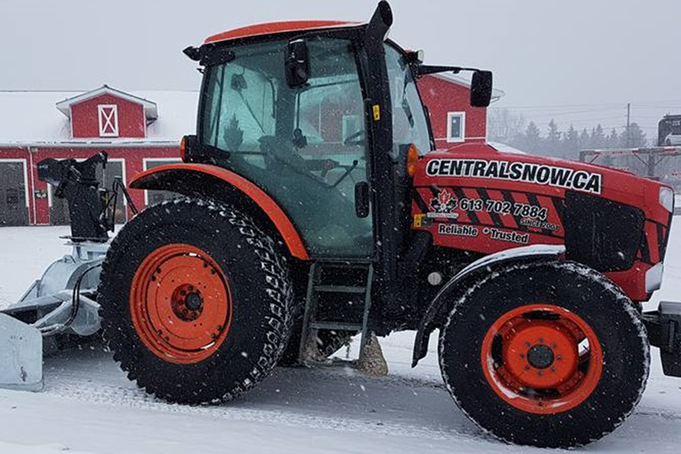 Central Snow Tractor